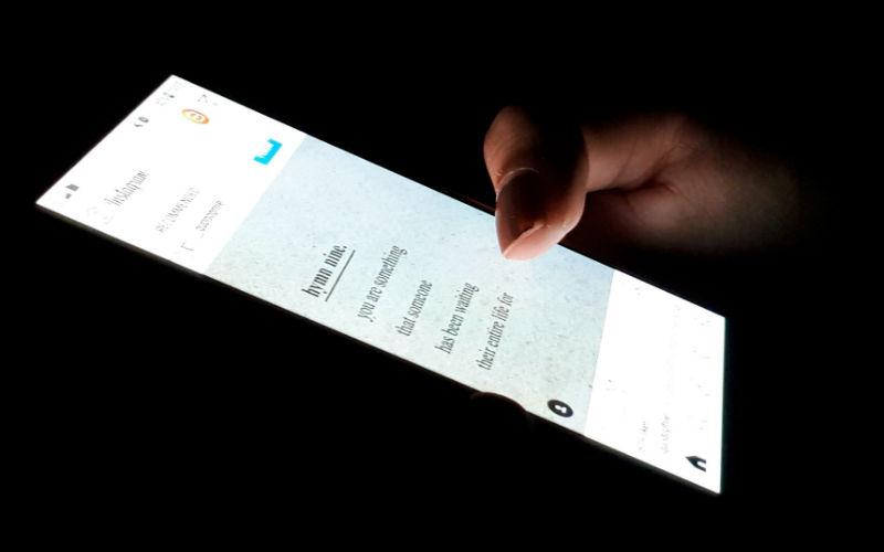 smartphone, plava svjetlost, skrolanje